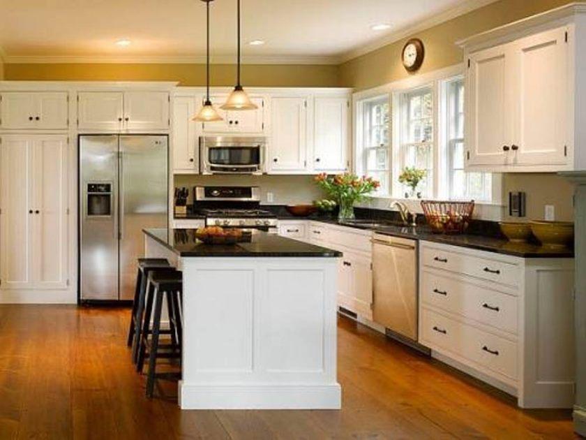 køkken-belysning-skrå loft