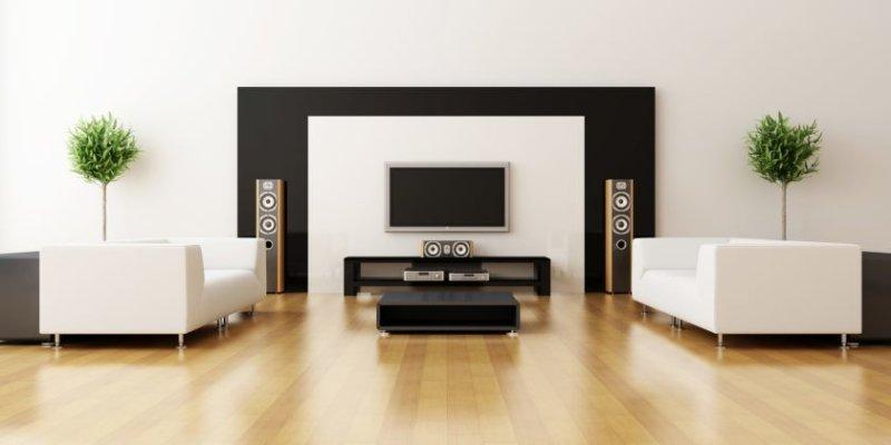 store moderne familie-stue-design-hvid-squared-arm-skummende-sæde-stol-sort-moderne-plast-kaffe-table-vinyl