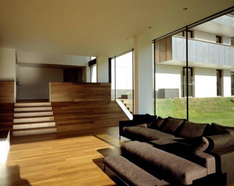stue-indretning-med-brune-sectionals-med-stue-designs-moderne-hele-stue-designs