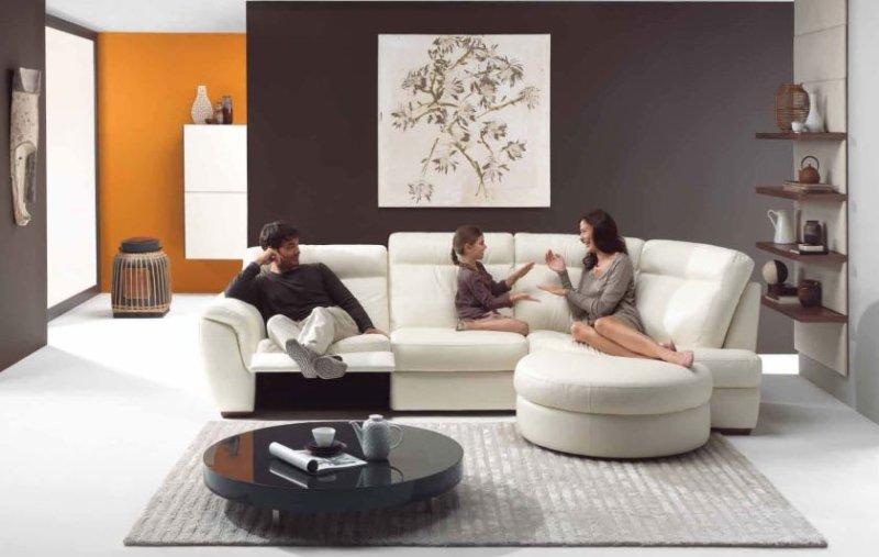moderne-dekoration-til-stue-væg-billede