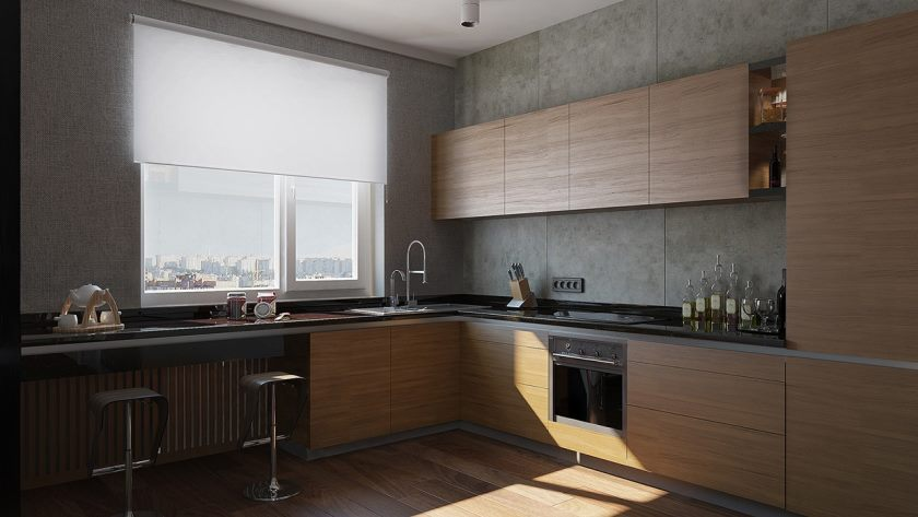 moderne køkken-design