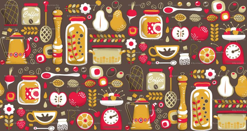 37754768-papier peint-cuisine