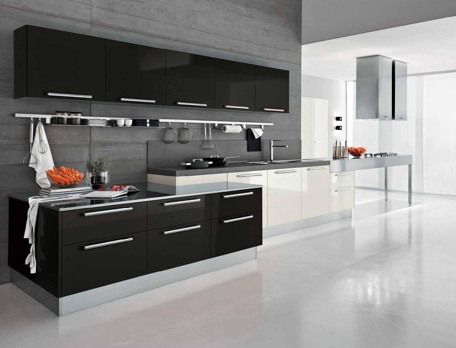 4-cuisine en noir et blanc