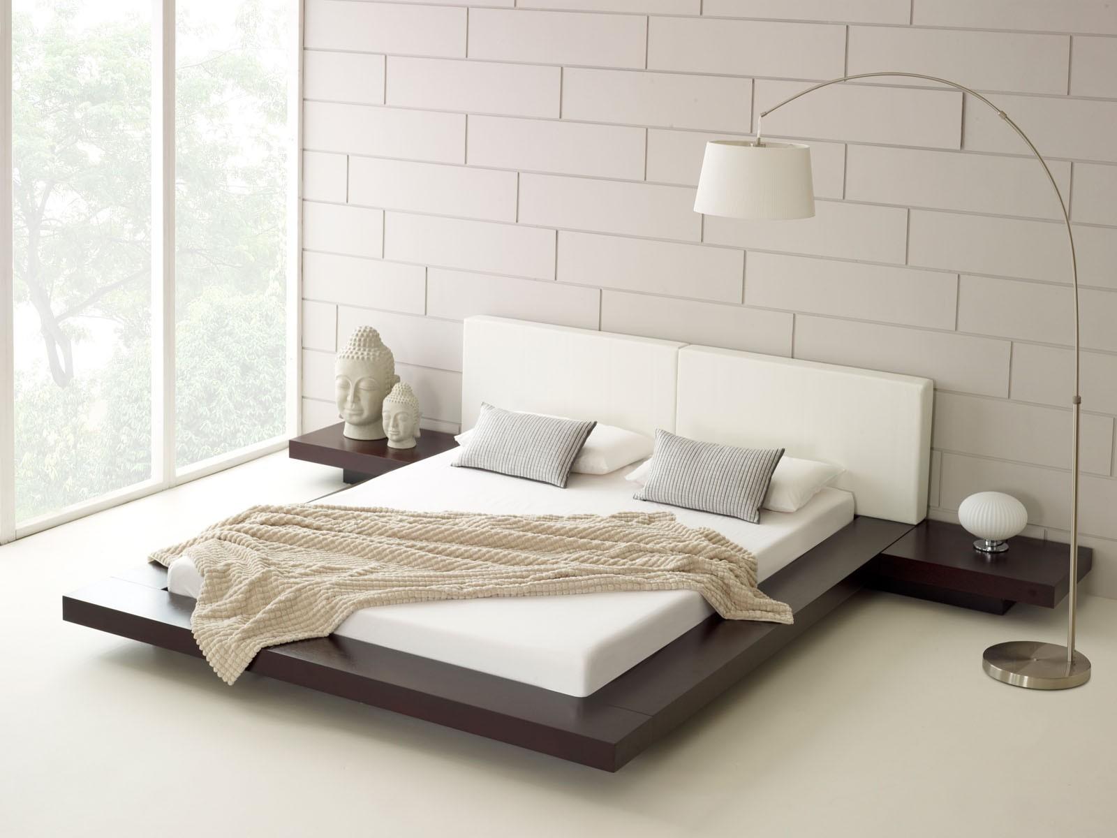 morsom-ikea-senge-sæt-med-moderne skandinavisk-soveværelse-med-suitab-også-værd-lavprofil-platform-seng-og-pacific-kyst-kira-krom-bue-gulv-lampe-also ikea-table-lampe-med-lys