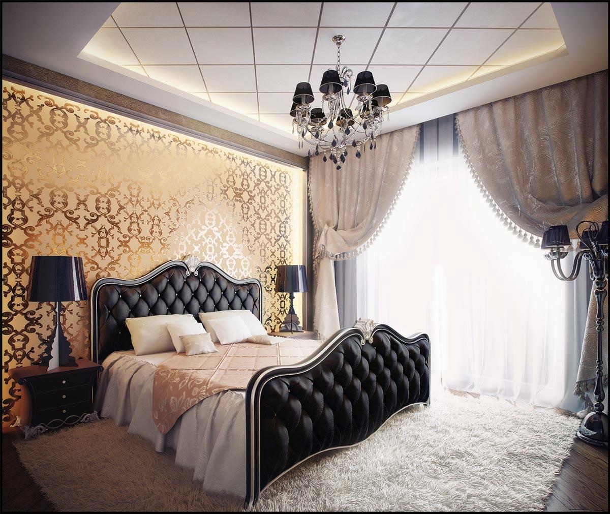 sort-guld-værelses-design