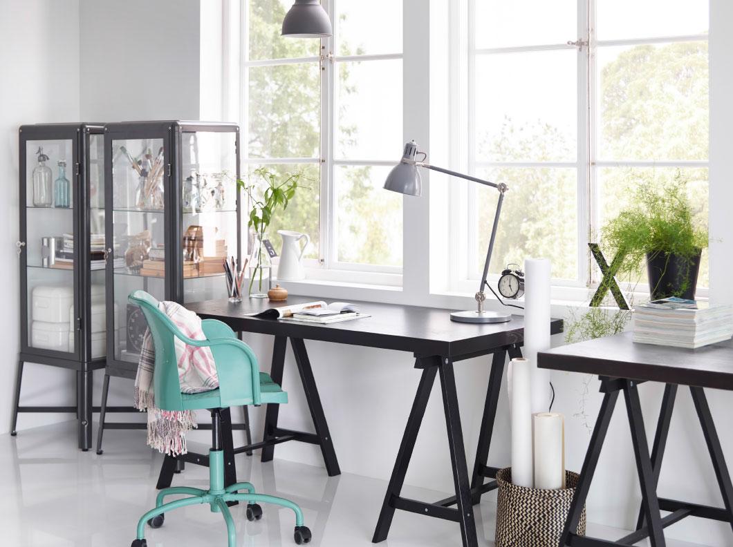 moderne hjørne-garderobe-skrivebord