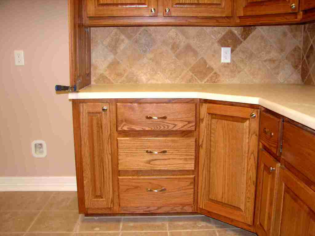 meuble d'angle de cuisine