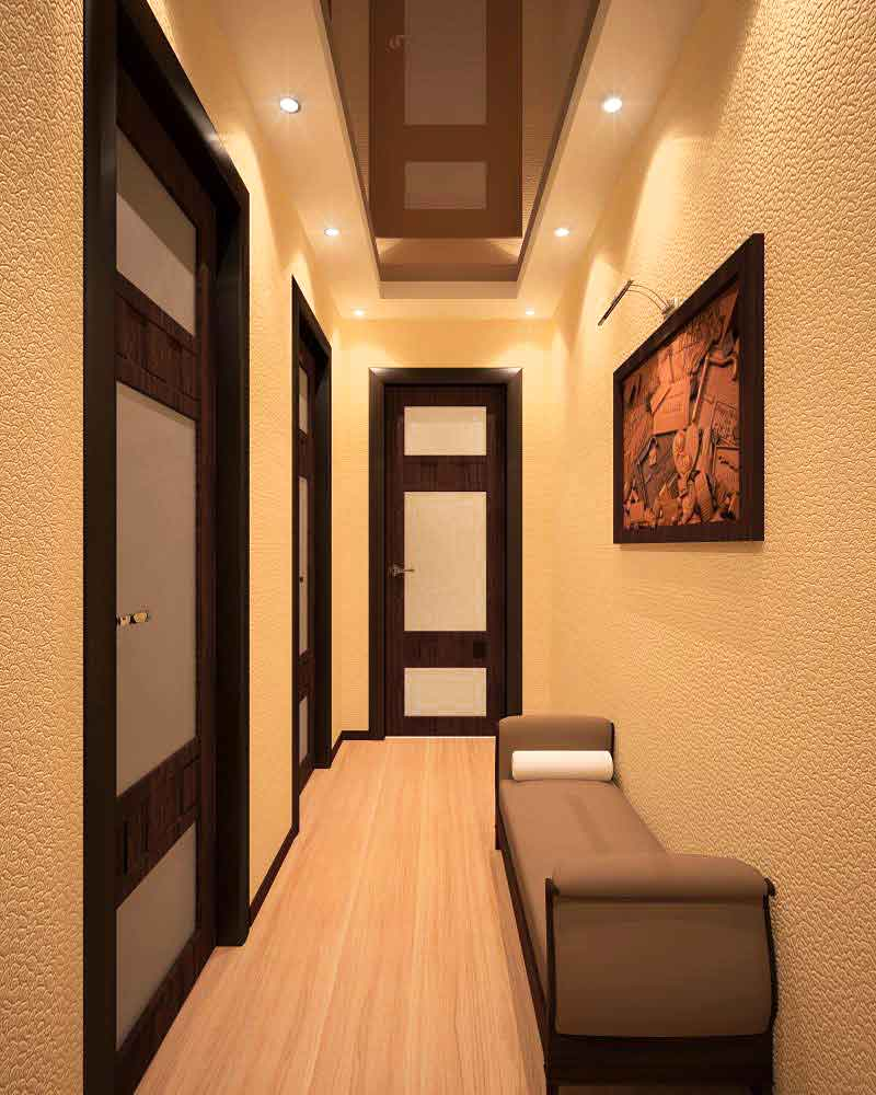 foto-11-raspashnye-dveri-v-interere-uzkogo-koridora-otkryvajutsja-v-komnaty-ne-pregrazhdaja-tem-samym-prohod-drugim-zhilcam-kvartiry
