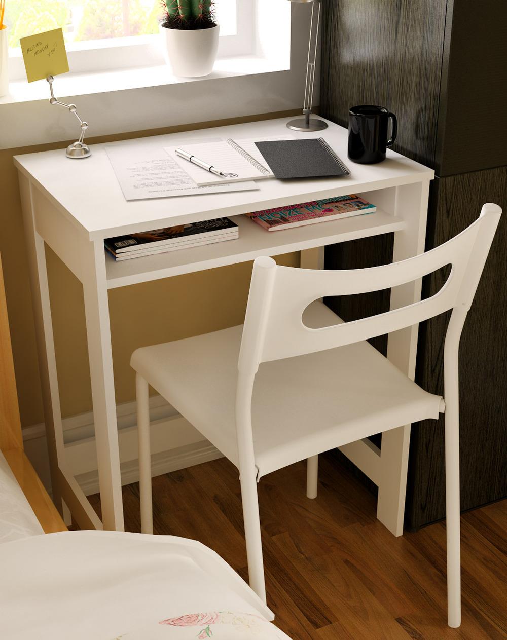 ikea-børns-kreativ-minimalistisk-desk-computer-skrivebord-simple-desk-studie-table-en-lille-desk-miljø