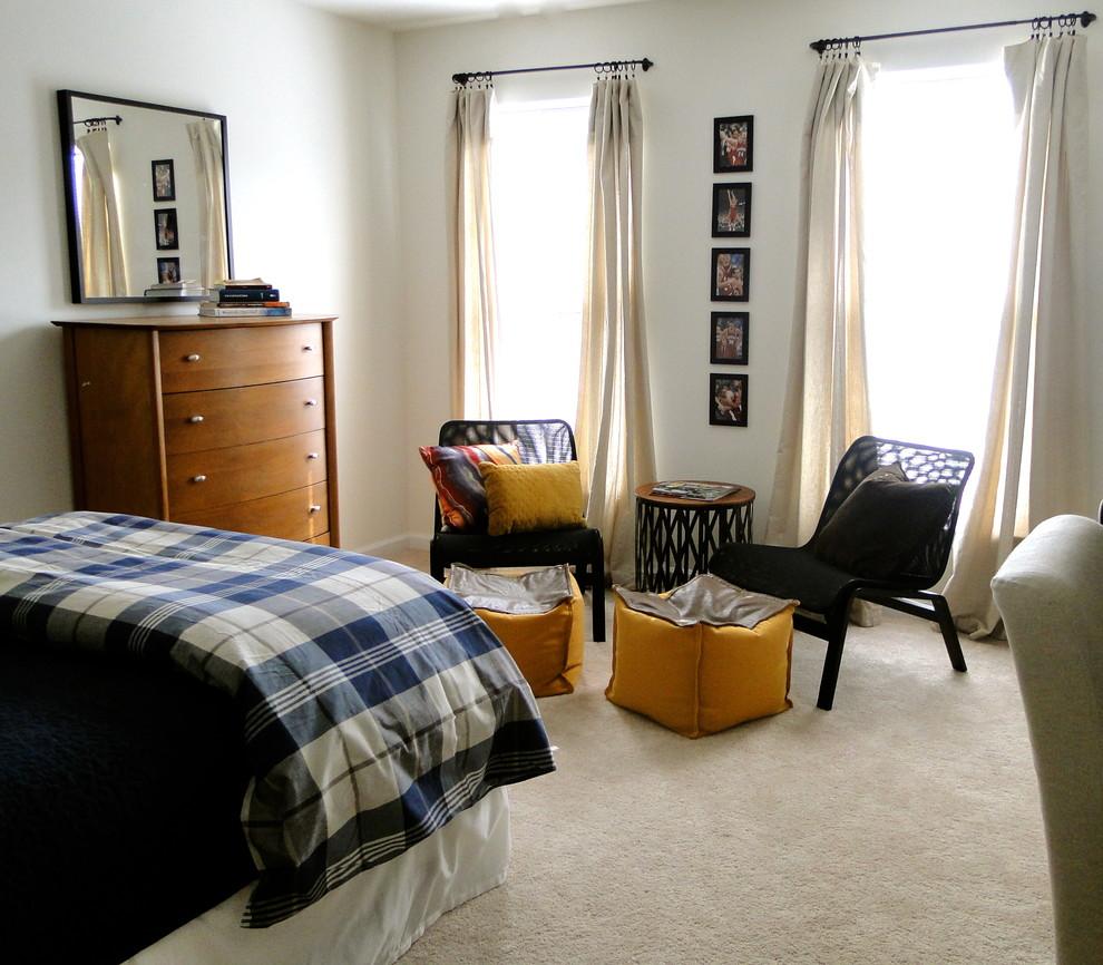 inspireret-ikea-sengetøj-mode-Charlotte moderne-værelses-remodel-ideer-med-værelses-bøger-boys-værelses