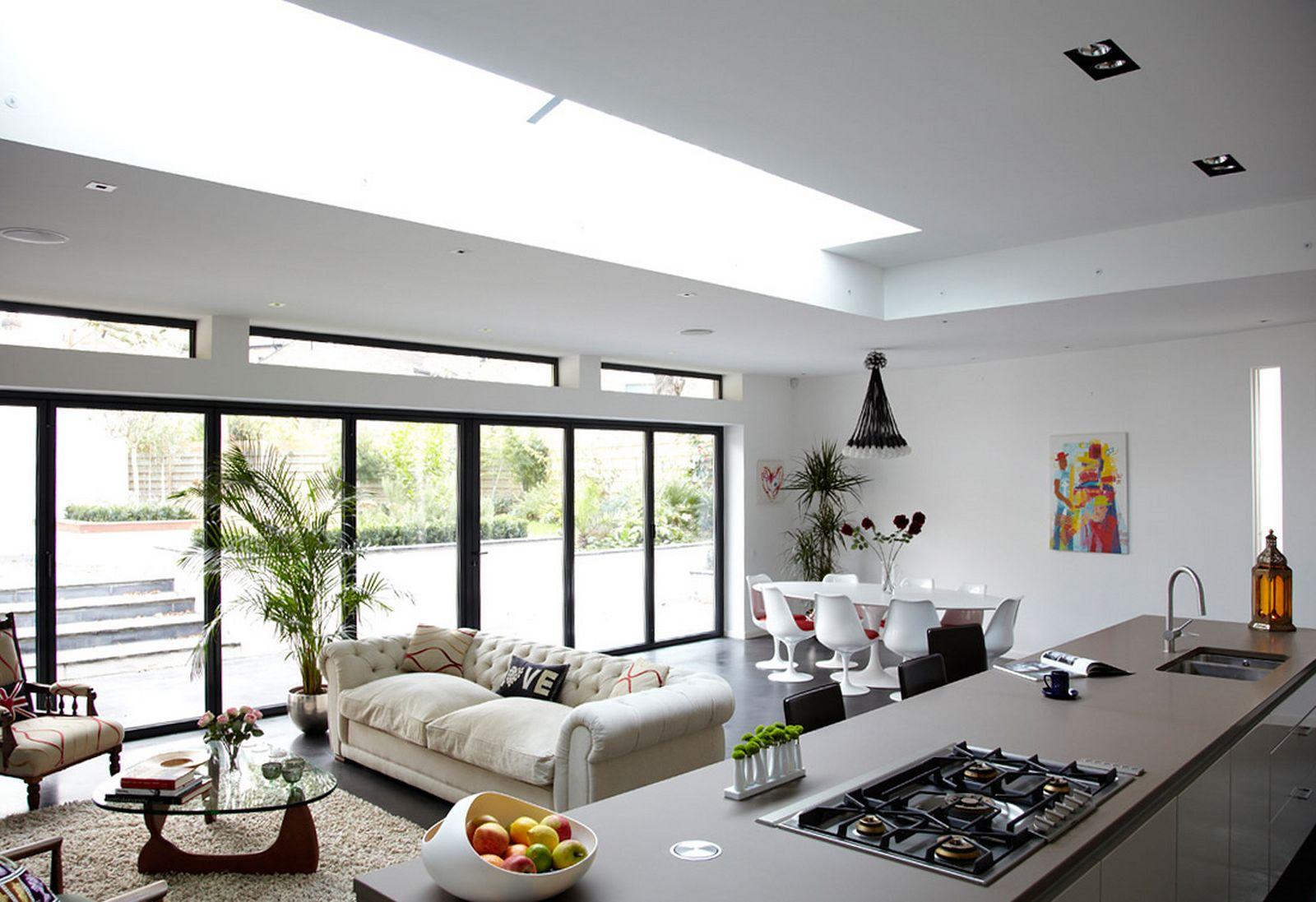 køkken-og-stue-kombineret-designs