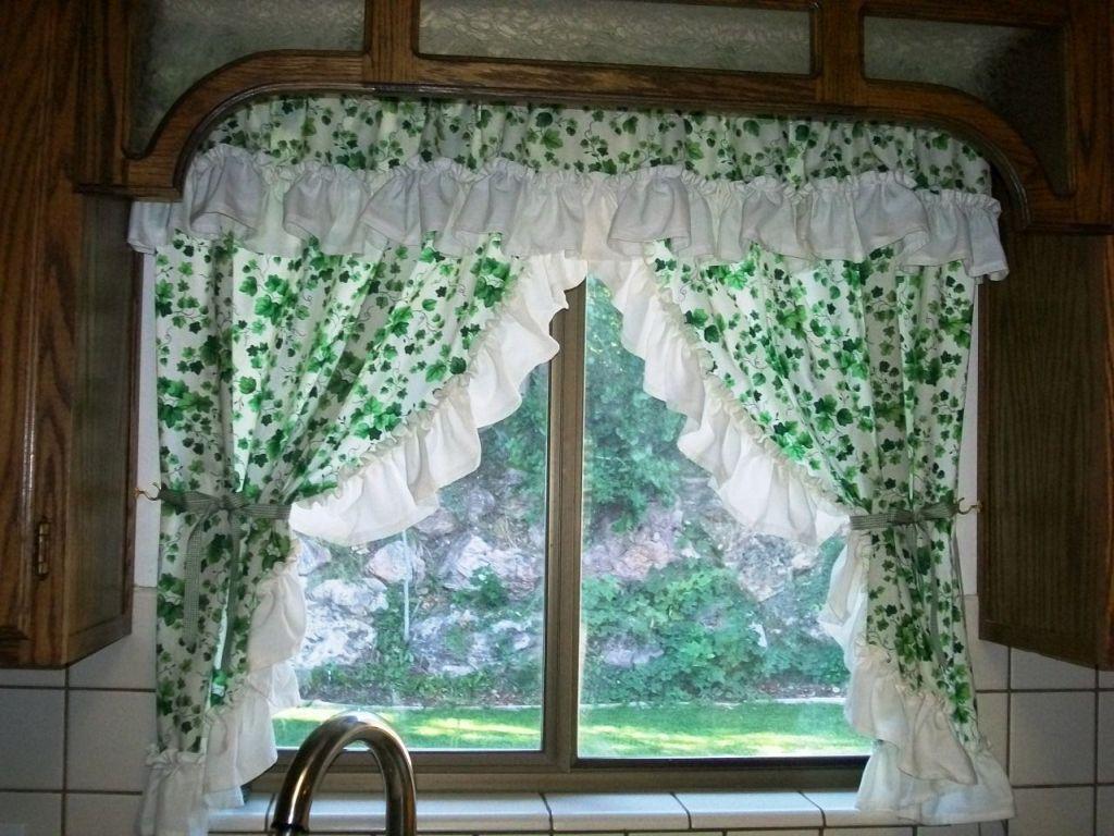 køkken-gardiner-ikea-grøn-farve