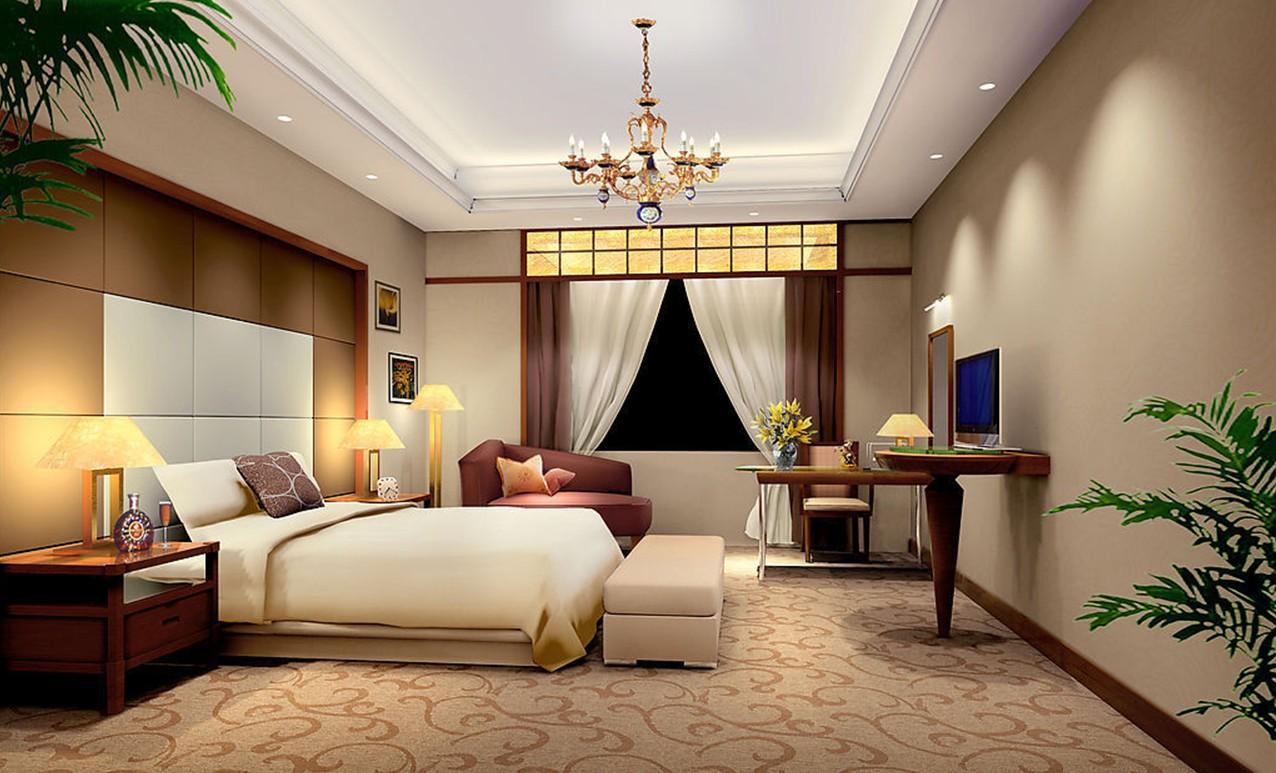 minimalistisk-mester-værelses-design-rendering