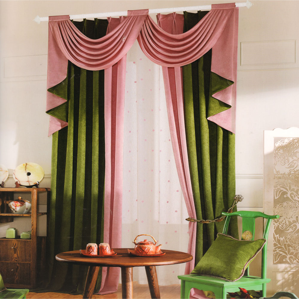 moderne design-gardiner-mørke-grøn-pink-farve-cmt05231451198-1