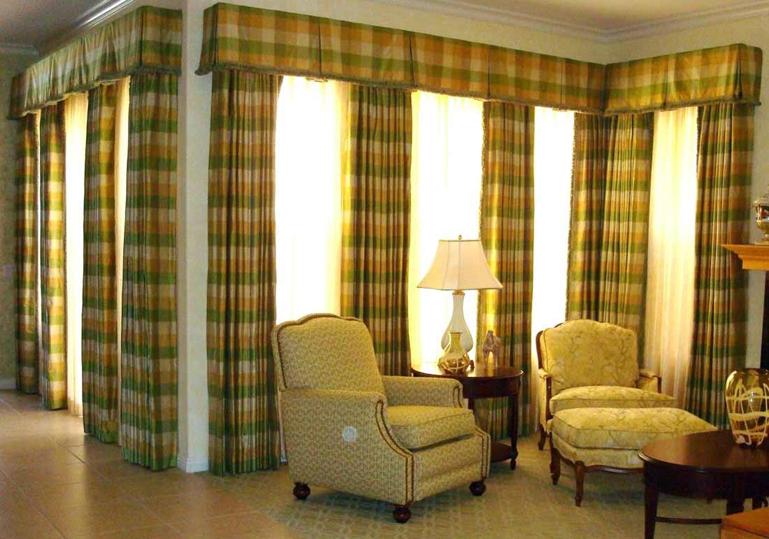 Valance-og-kort-vindue-gardiner