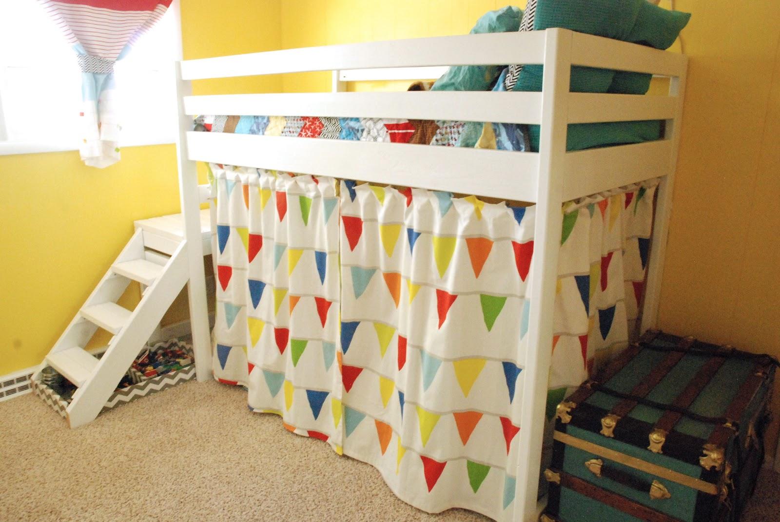 tilbehør-guddommelige-billede-af-kid-værelses-dekoration-hjælp-lys-blå-og-rød-stribe-ikea-børn-gardin-inklusive-gul-kid-værelse-væg-maling-og-farverige-tent- hvid-træ-kid-køjeseng-flot-p