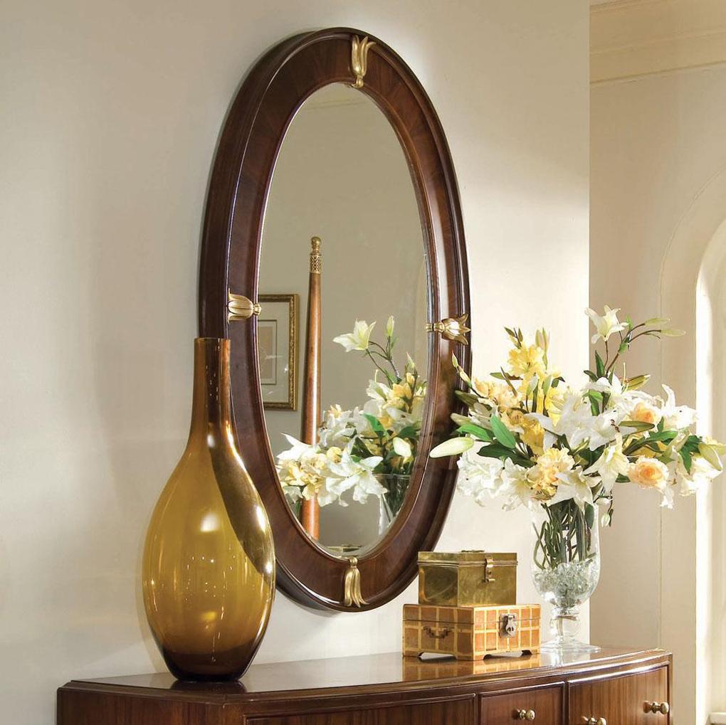 beau-classique-ovale-couloir-miroir-design