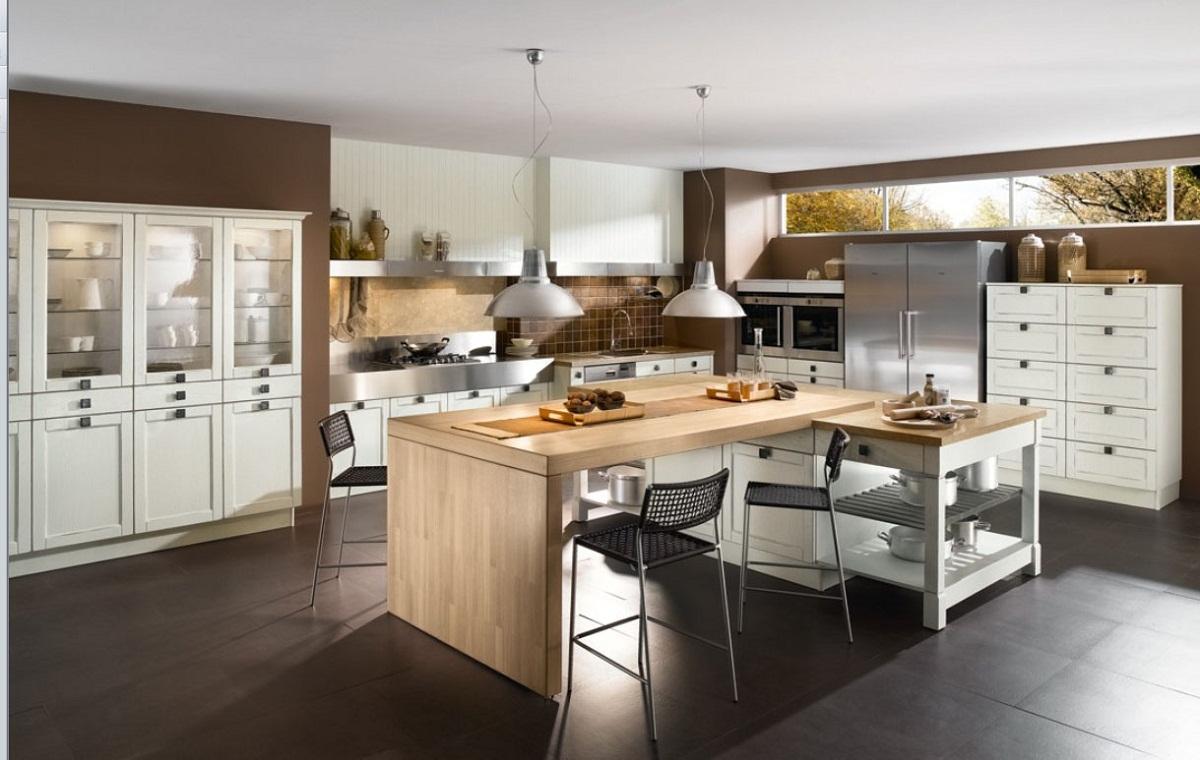 elegant-spisestue-og-køkken-i-moderne-lejlighed-decobizz-åbent-køkken-til-spisestue