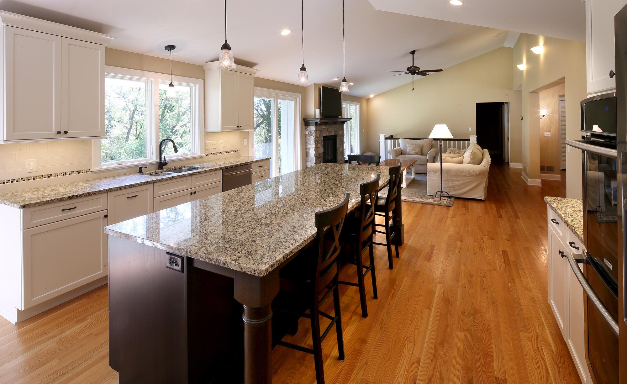 fabelagtige-share-billeder-af-i-minimalistisk-galleri-åben-koncept-køkken-stue
