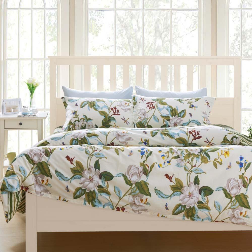 fancy-design-ideer-of-ikea-teenage-soveværelse-med-hvide-træ-bed-rammer-og-blomster-mønster-dækket-sengetøj-sheets-også-puder-og-hvid-træ-seng-tabel- med-skuffe-med-ikea-værelse-design-også-st