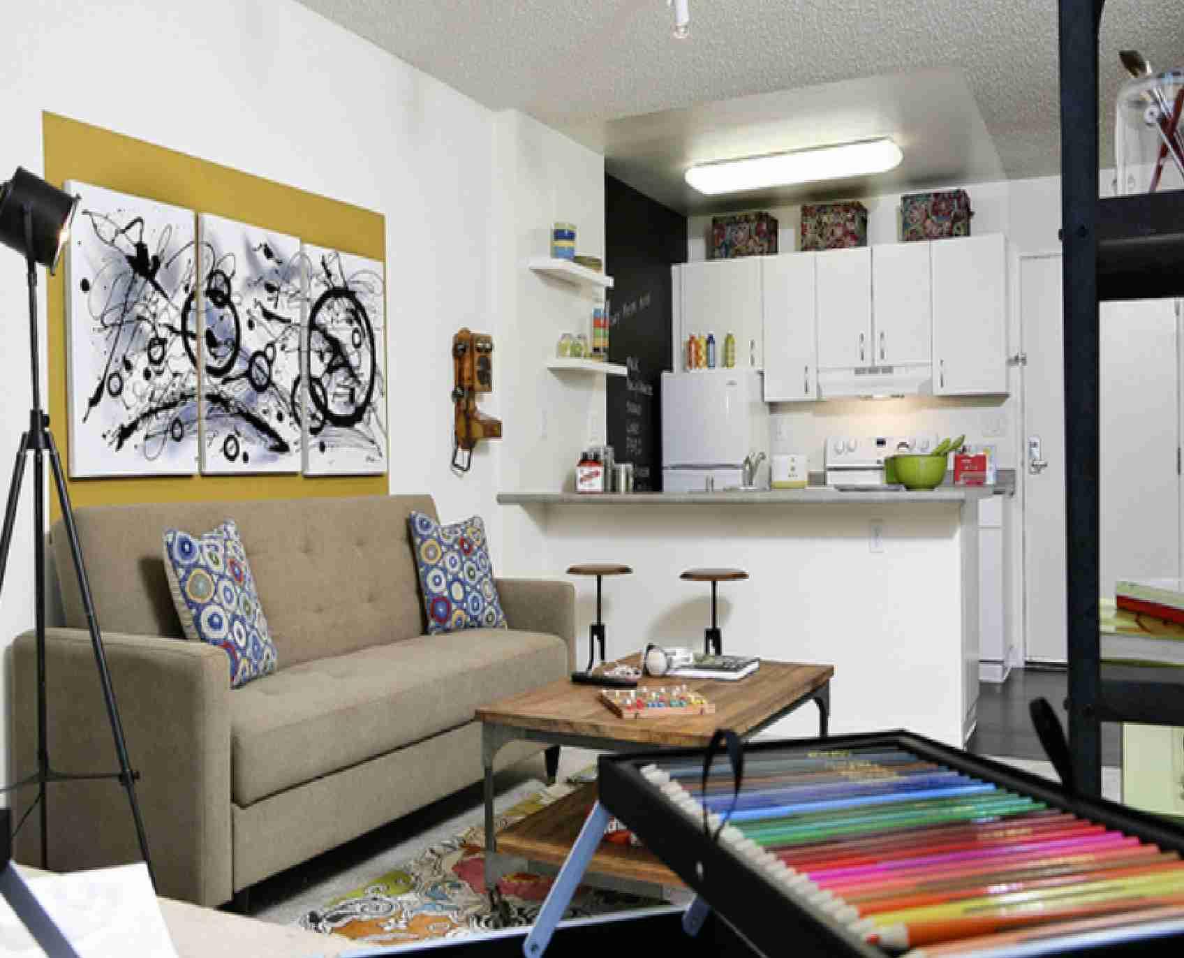 god-køkken-og-spisestue-designs-til-små-rum-små-space-stue-udsmykning-ideer
