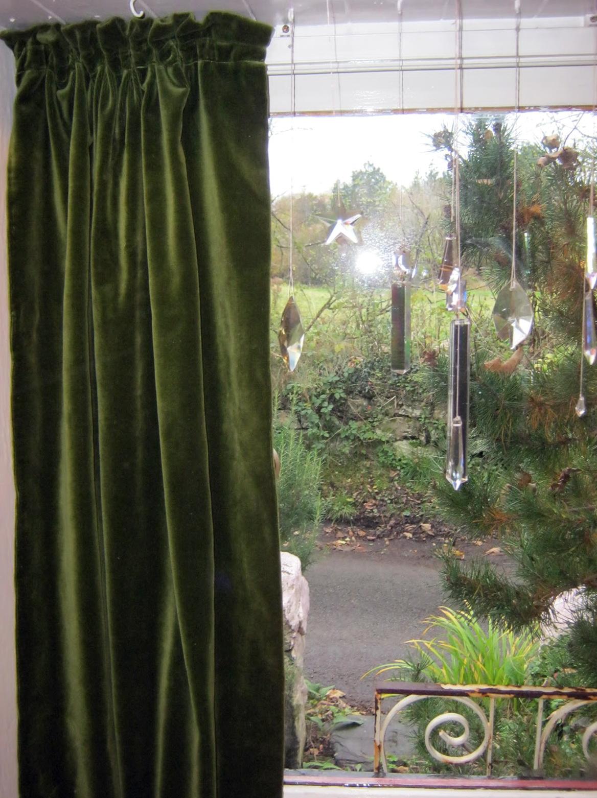 Grønne gardiner