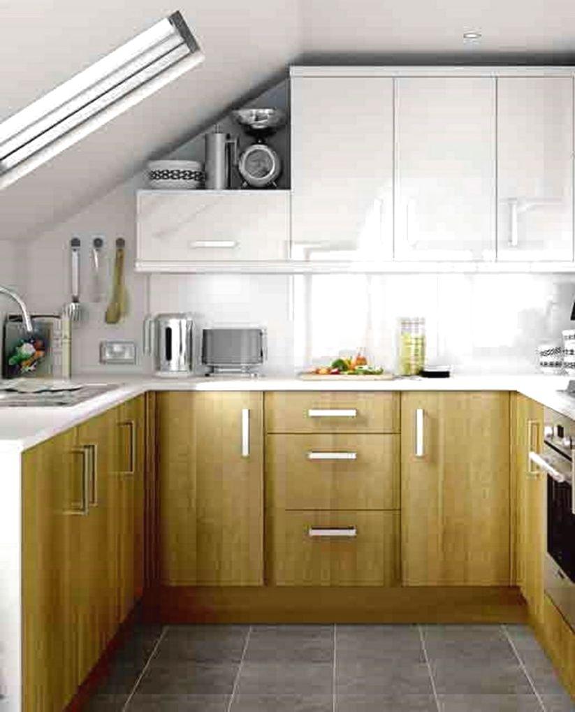 moderne køkken design til små køkkener
