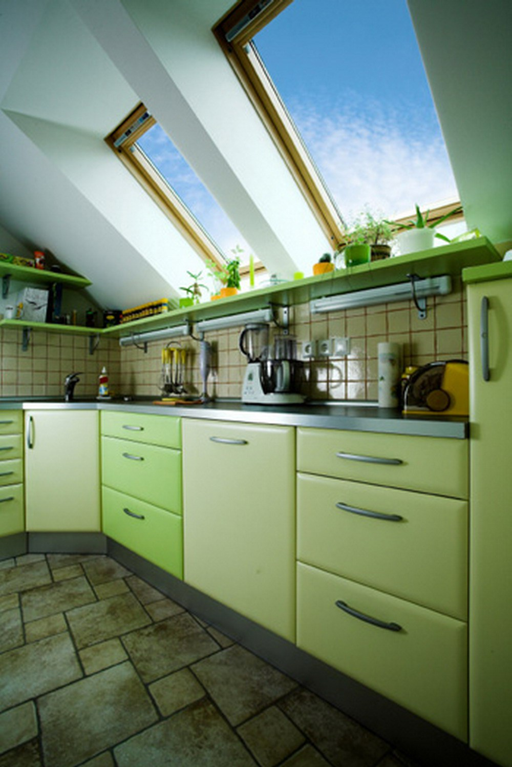 inspirerende-grøn-køkken-design