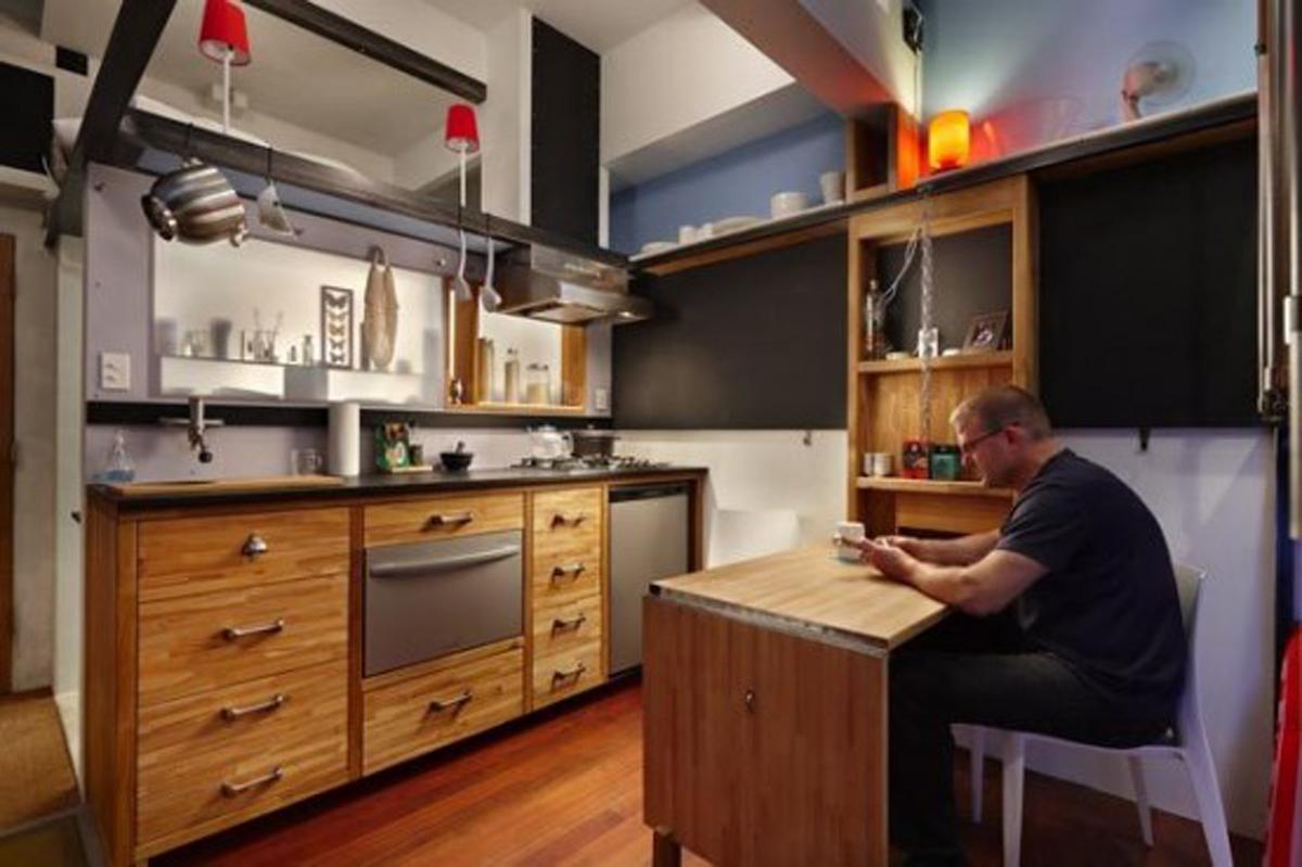 interiør-kælder-lejlighed-køkken-design