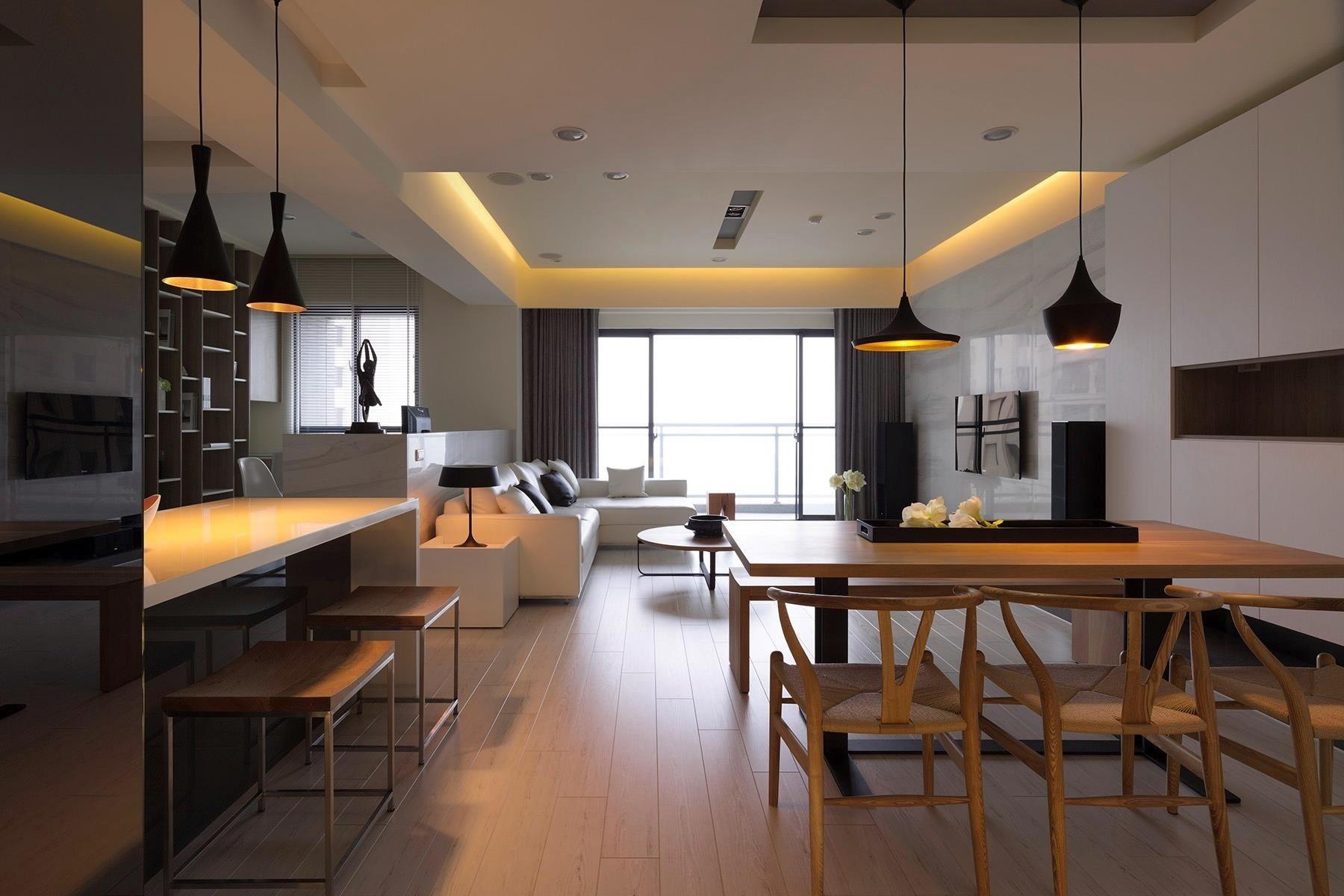 Stue i køkken