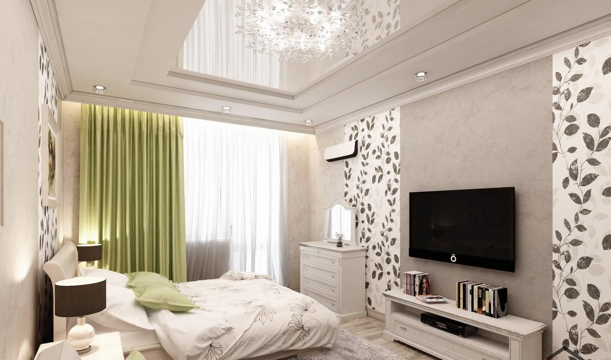 Design af et soveværelse-stue 15,6 kvm