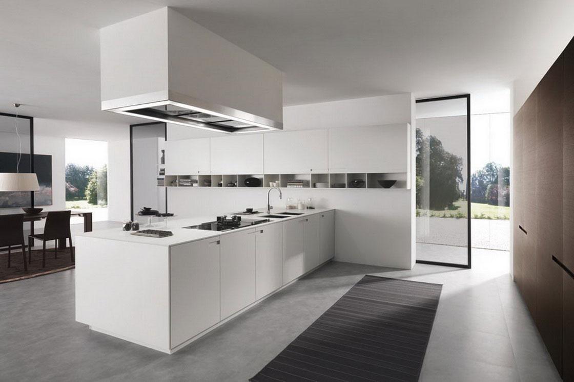 moderne minimalistisk-køkken-indretning-let-køkken-set-hvid-kabinet-fascinerende-køkken-lampe-ideer-til-moderne-look