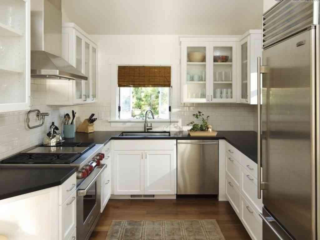 naturlige-beskedne-køkken-ideer-til-små-køkkener
