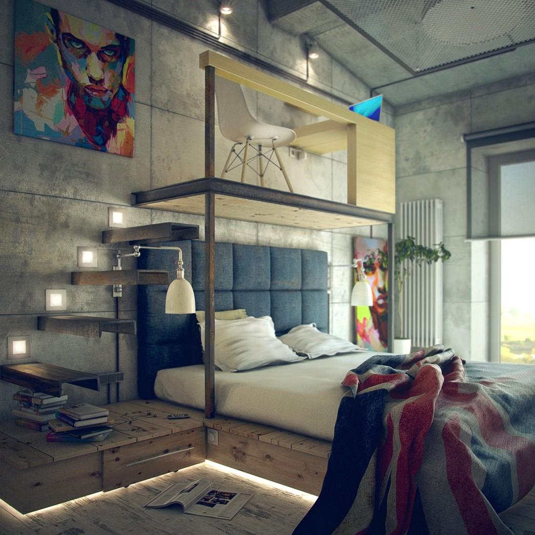spalnya-v-stile-loft-8