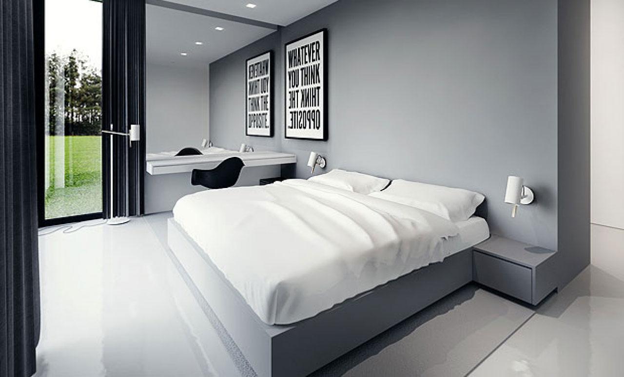 overraskende-moderne-værelses-designs-inspiration-2013-med-king-size-seng-møbler-også-side-bord-og-billede-indrammet-i-grå-tema-værelse-interiør-dekorationer