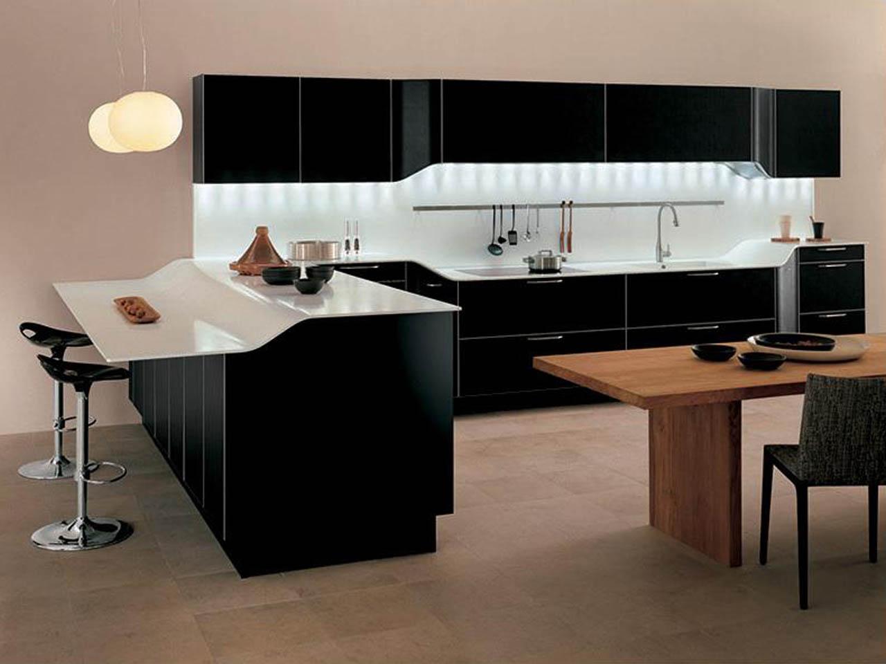 ultramoderne-ikea-armoires-de-cuisine-armoire-de-peinture-noire-style-contemporain-et-étonnants-blanc-brillant-comptoirs-aussi-créatif-caché-lumière-décor-sous-mur-rangement-avec-rta-cuisine- armoires et qualité