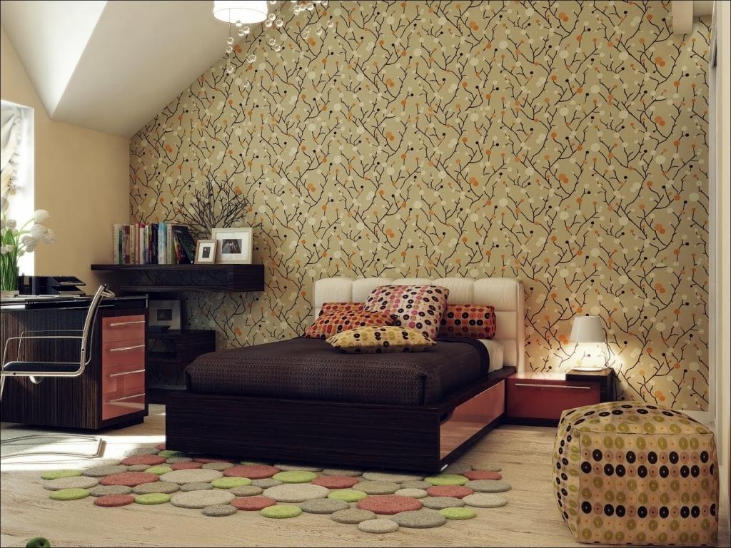 Papier peint dans la chambre