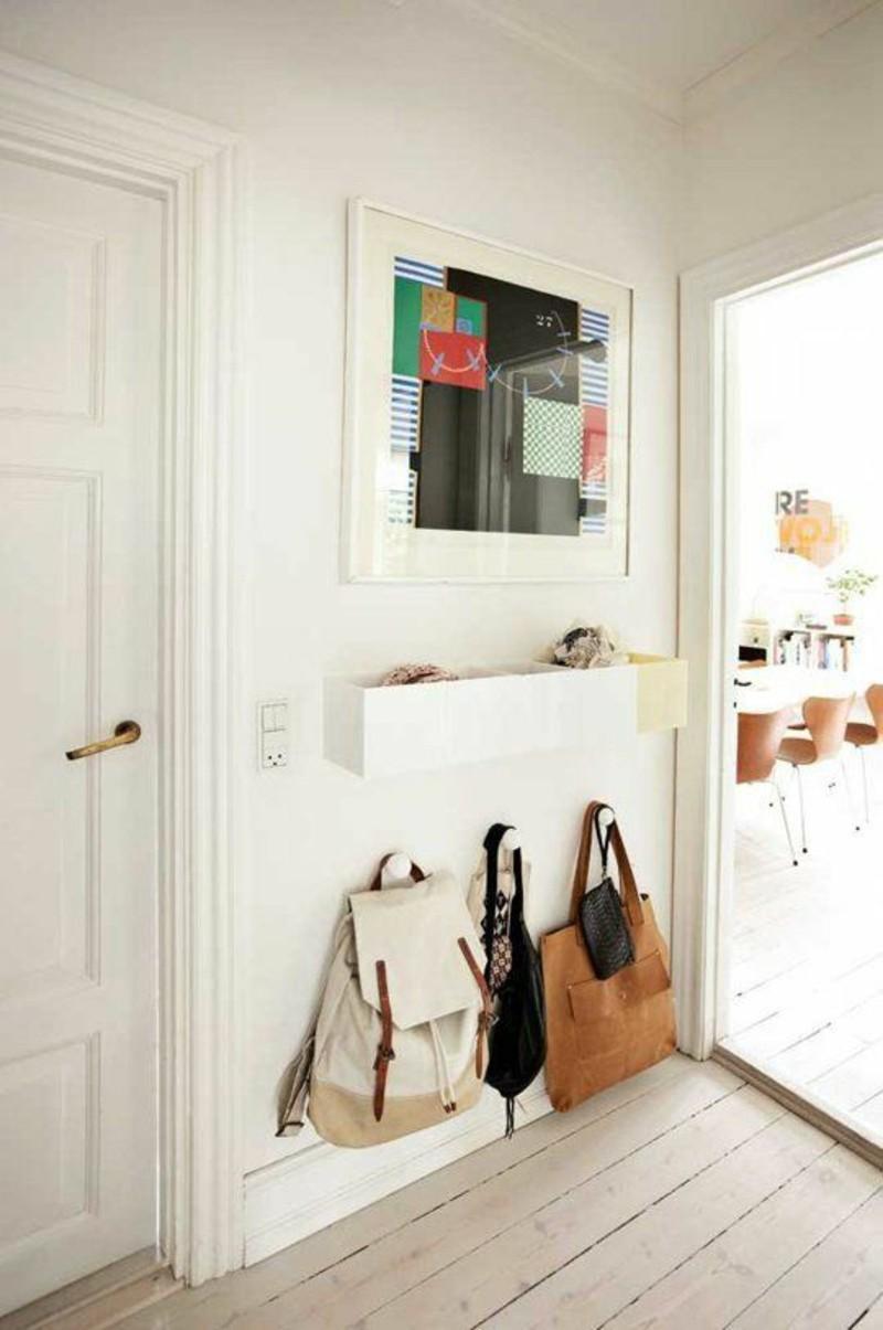 décoration-murale-idées-couloir-décoration-mobilier