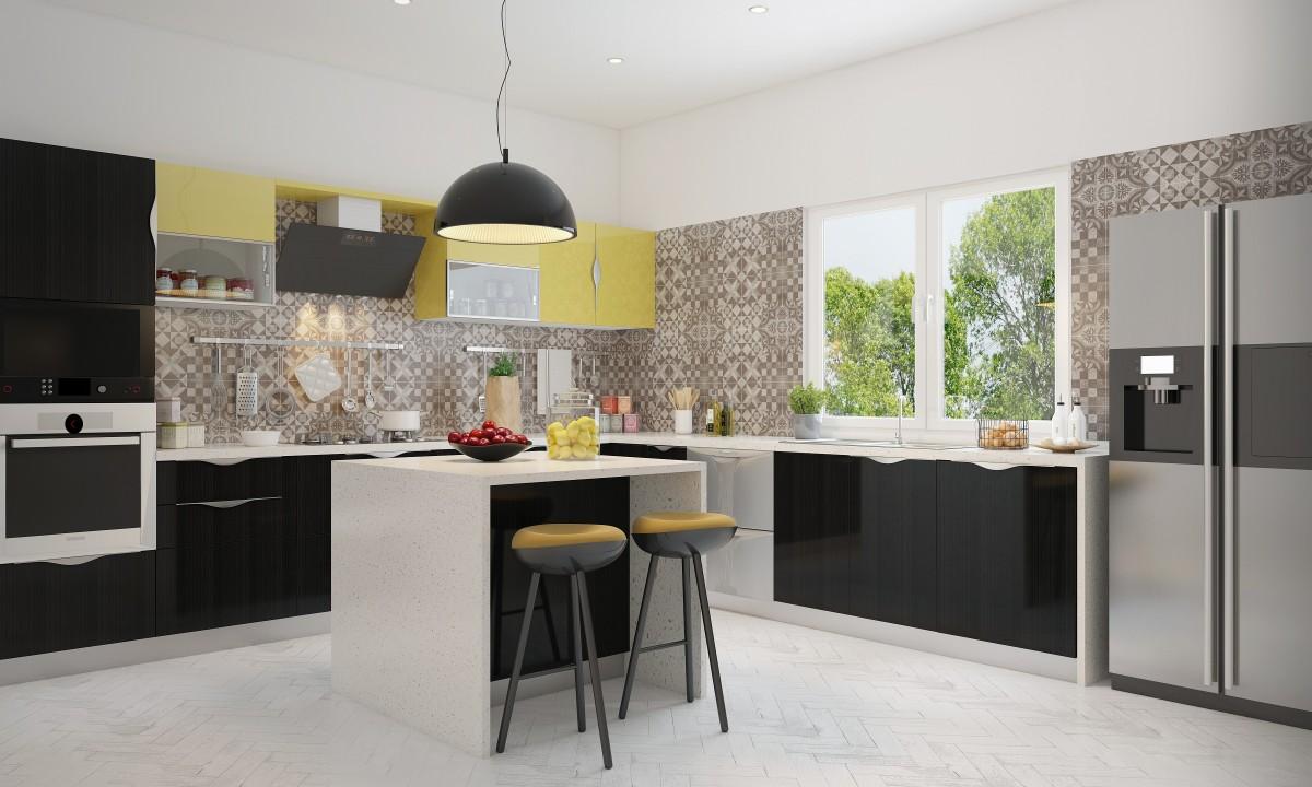 Whitney-l-formede-modulært-køkken