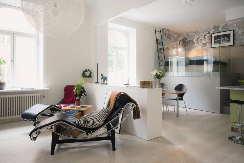 Appartement-Studio de 476 pi2