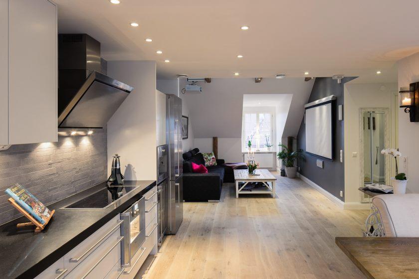 appartements-élégant-petit-une-chambre-moderne-grenier-appartement-avec-et-canapés-velours-noir-appartement-compact-design-appartement-loft-appartement-design-petit-studio-cuisine-votre-propre-appartements-interieur-dis