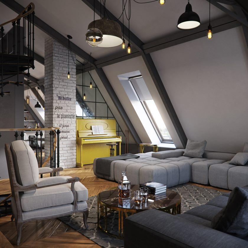 brique-apparente-deux-voies-immediatement-le-grenier-incline-appartement-plafonds_plafond-petit-appartement_appartement_appartement-plans-etages-dessins-loft-design-quartier-appartements-dallas-minimaliste-petit-interieur