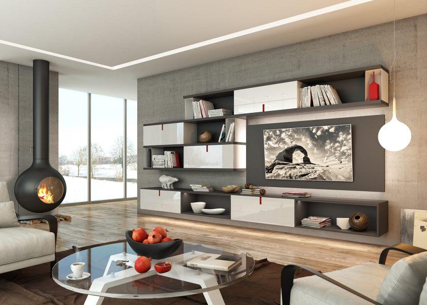 moderne stue-design
