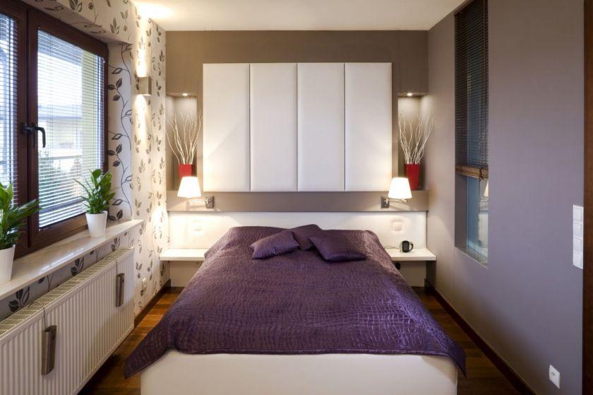 hvordan man arrangerer møbler i soveværelset