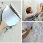 reparation af loft og væg