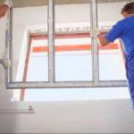 demontering af vinduer