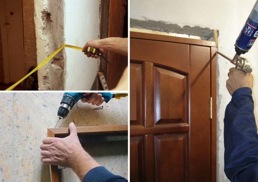 démonter la porte