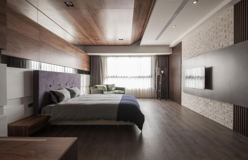Soveværelses loft