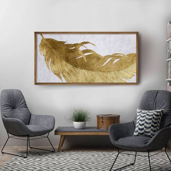 plume dorée