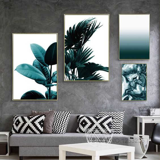 affiches de plantes